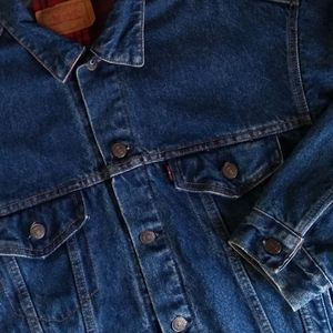 Levi's Made in USA Men's Denim Jacket Size Small